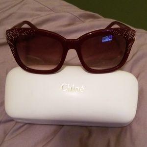 Like new chloe sunglasses